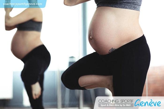 Pendant la période de votre grossesse, nous allons travailler avec modération et bannir les exercices visant à renforcer la sangle abdominale.