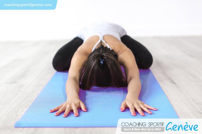 Cours privé de Pilates : alternance de stretching et de tonification des muscles profonds